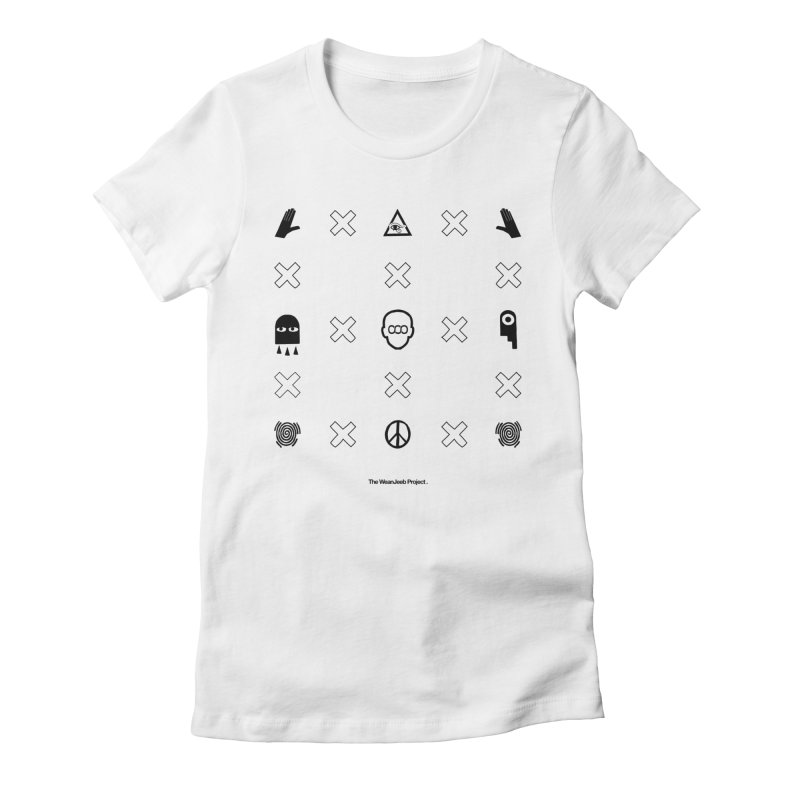 Dispose x multiply (bow) Women's Fitted T-Shirt by WeandJeeb's Artist Shop