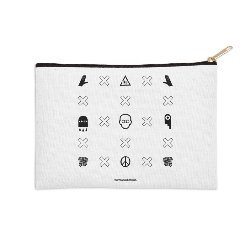 Dispose x multiply (bow) Accessories Zip Pouch by WeandJeeb's Artist Shop