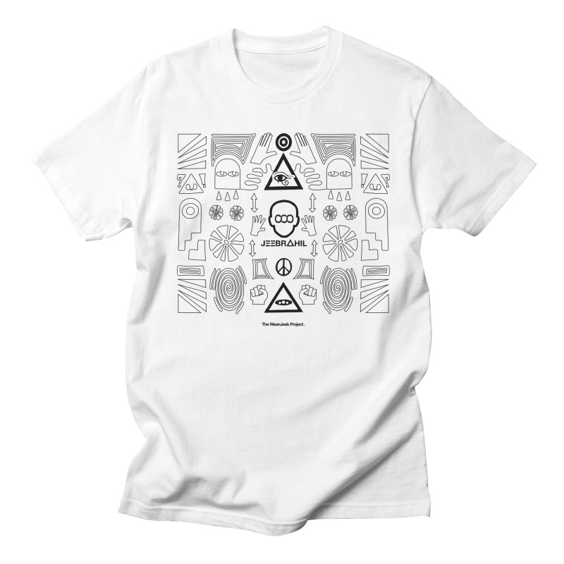 Squared x organised (b) Women's Unisex T-Shirt by WeandJeeb's Artist Shop