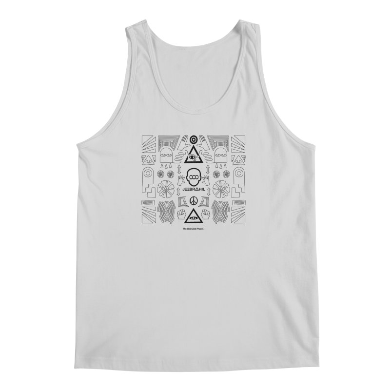 Squared x organised (b) Men's Tank by WeandJeeb's Artist Shop