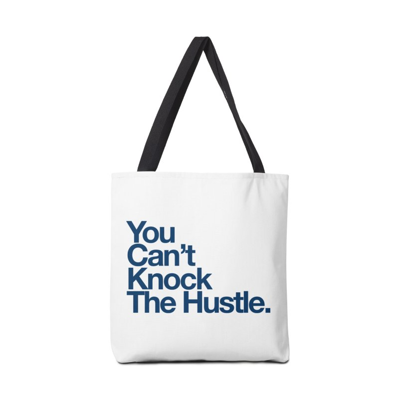 Can knock the hustle (blue) Accessories by WeandJeeb's Artist Shop