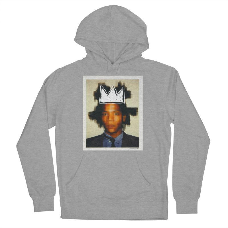 JMB pixelled and crowned Men's Pullover Hoody by WeandJeeb's Artist Shop