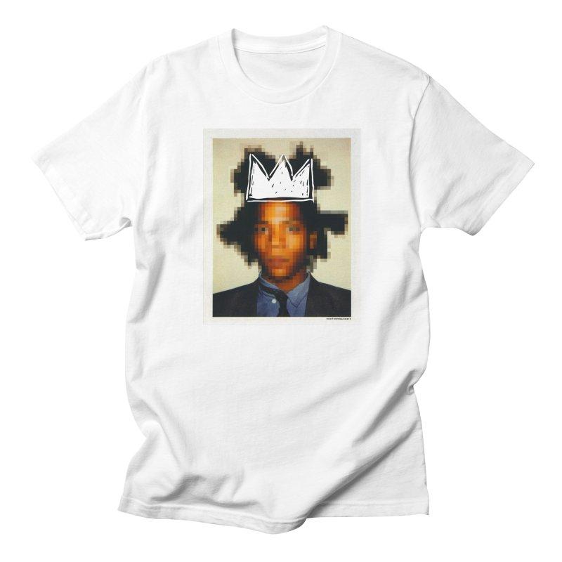 JMB pixelled and crowned Women's Unisex T-Shirt by WeandJeeb's Artist Shop