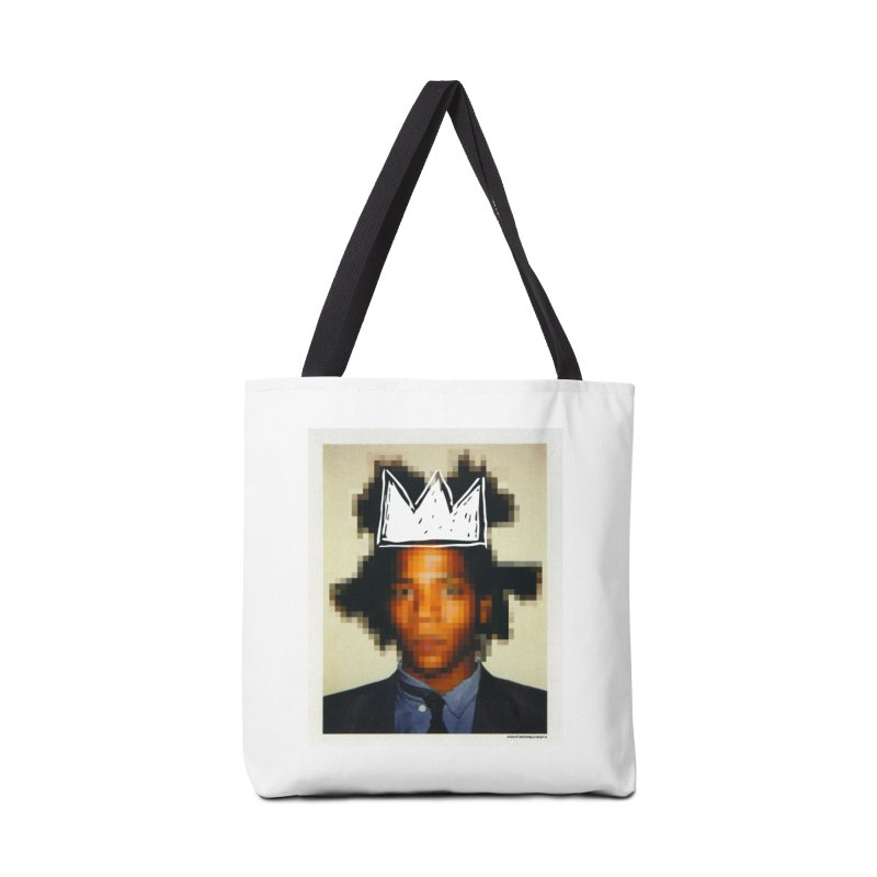 JMB pixelled and crowned Accessories Bag by WeandJeeb's Artist Shop
