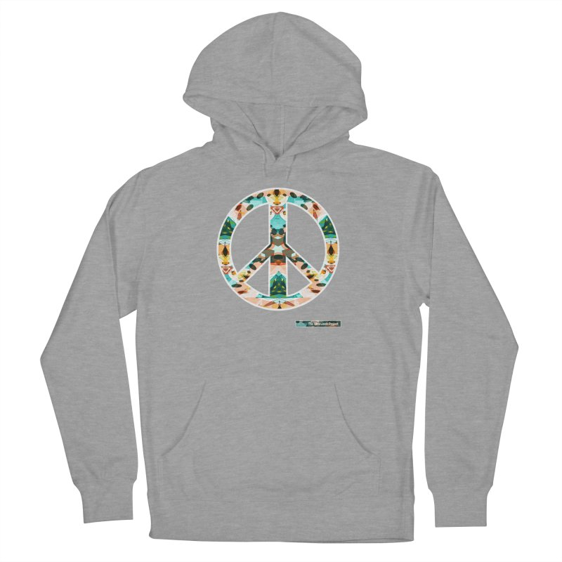Peace Day Kaleido Women's Pullover Hoody by WeandJeeb's Artist Shop