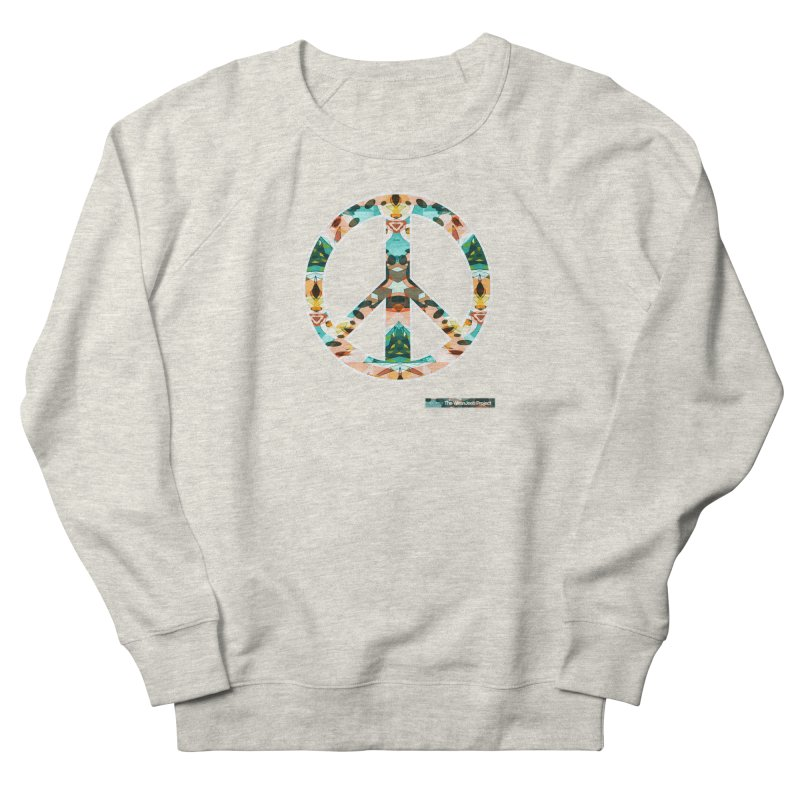 Peace Day Kaleido Women's Sweatshirt by WeandJeeb's Artist Shop