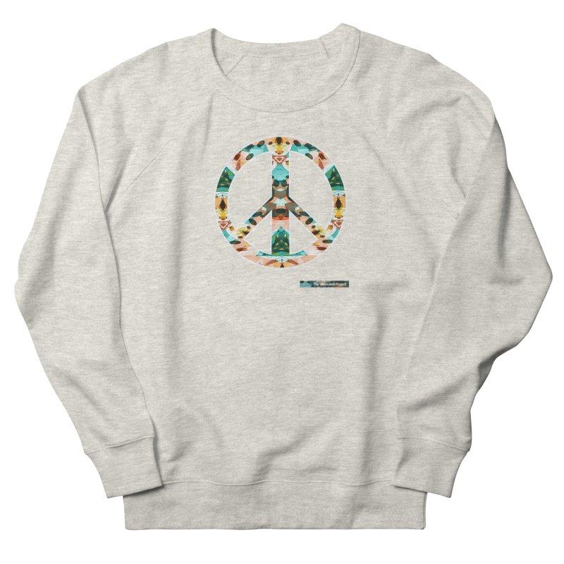 Peace Day Kaleido Men's Sweatshirt by WeandJeeb's Artist Shop