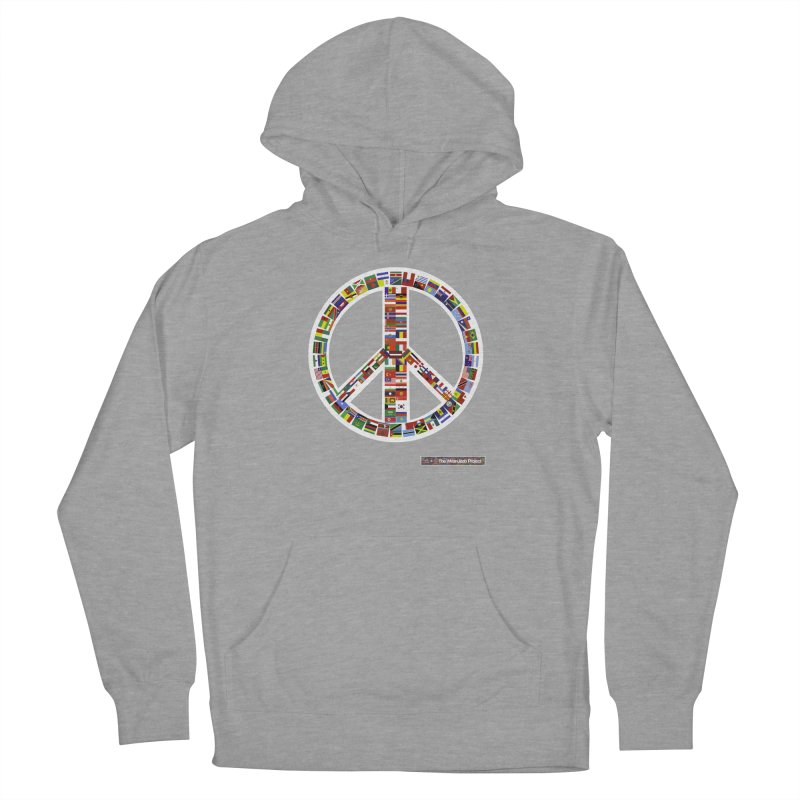 Peace Day Flags Men's Pullover Hoody by WeandJeeb's Artist Shop