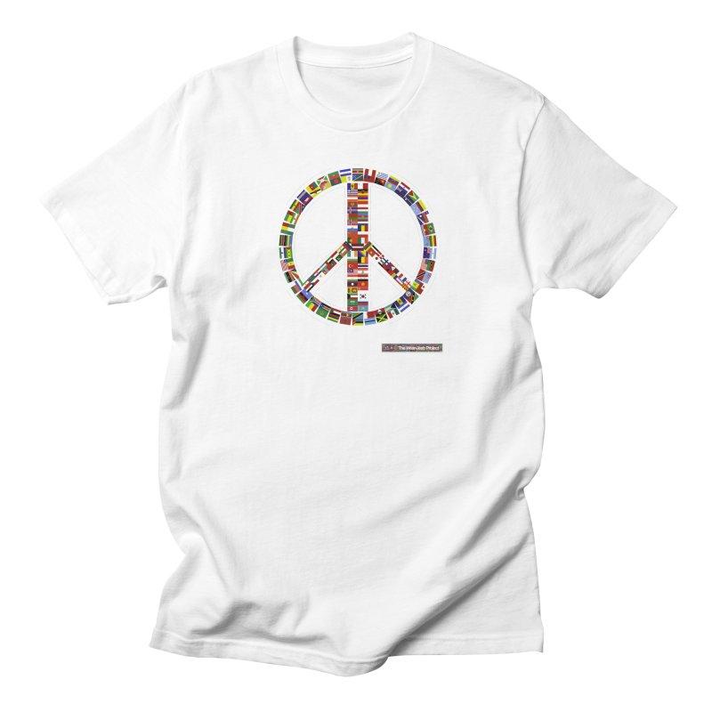 Peace Day Flags Women's Unisex T-Shirt by WeandJeeb's Artist Shop