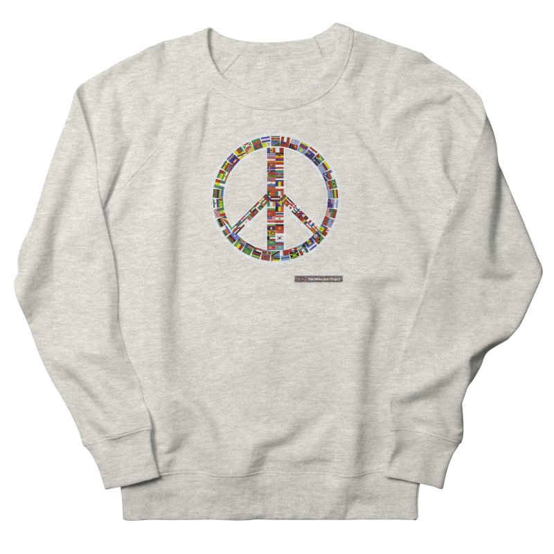 Peace Day Flags Men's Sweatshirt by WeandJeeb's Artist Shop