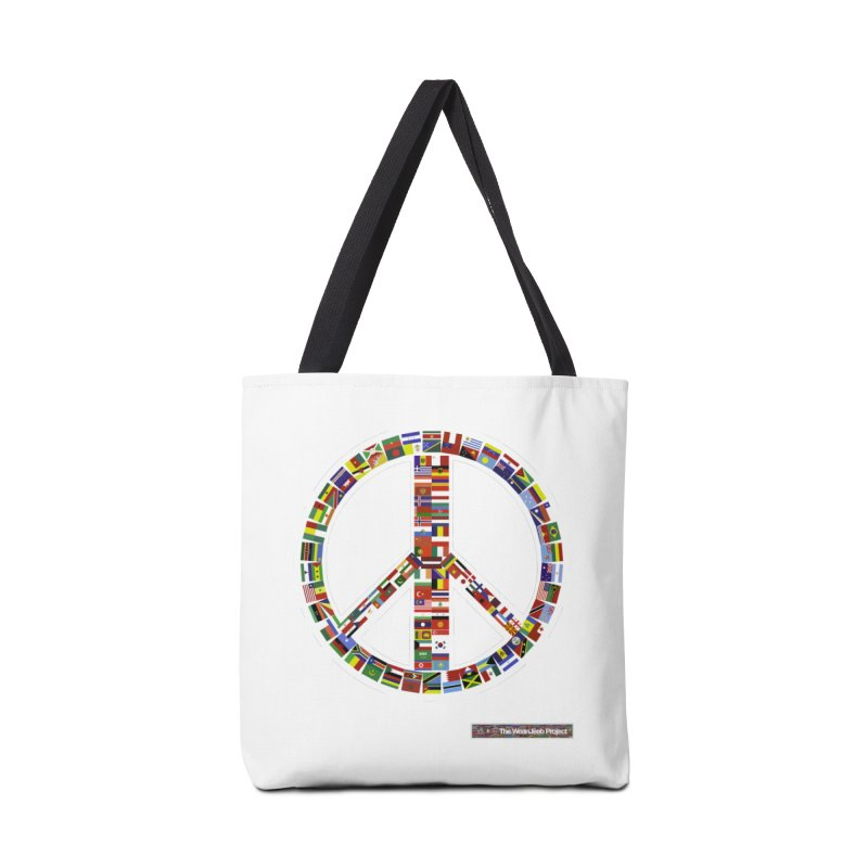 Peace Day Flags Accessories Bag by WeandJeeb's Artist Shop