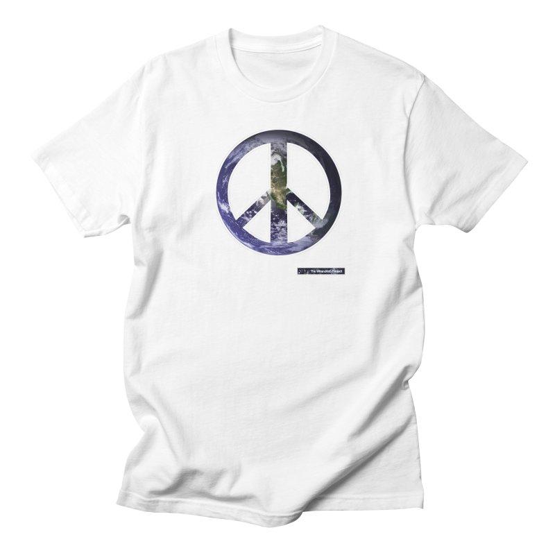 Peace Day Earth Women's Unisex T-Shirt by WeandJeeb's Artist Shop