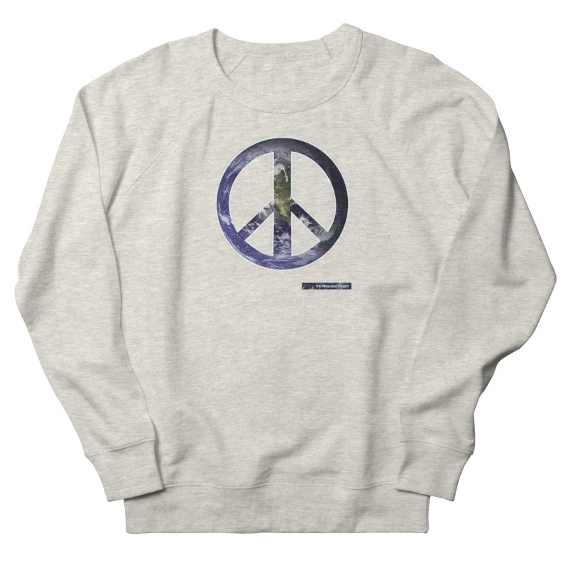 Peace Day Earth Men's Sweatshirt by WeandJeeb's Artist Shop