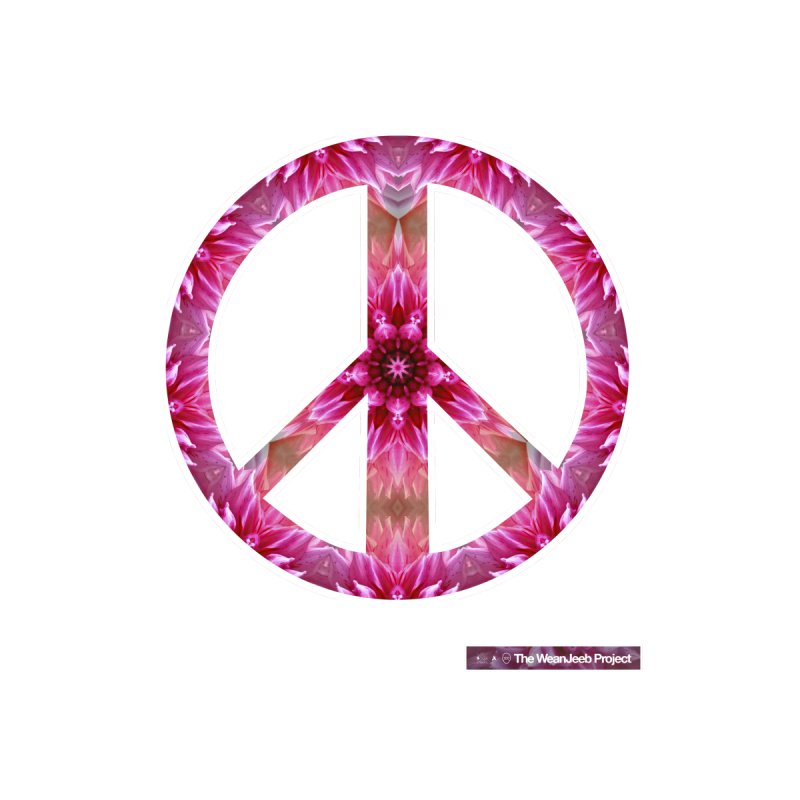 Peace Day Mandala Women's Unisex T-Shirt by WeandJeeb's Artist Shop