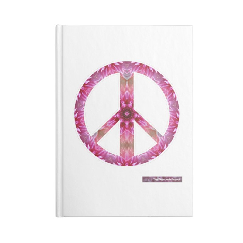 Peace Day Mandala Accessories Notebook by WeandJeeb's Artist Shop