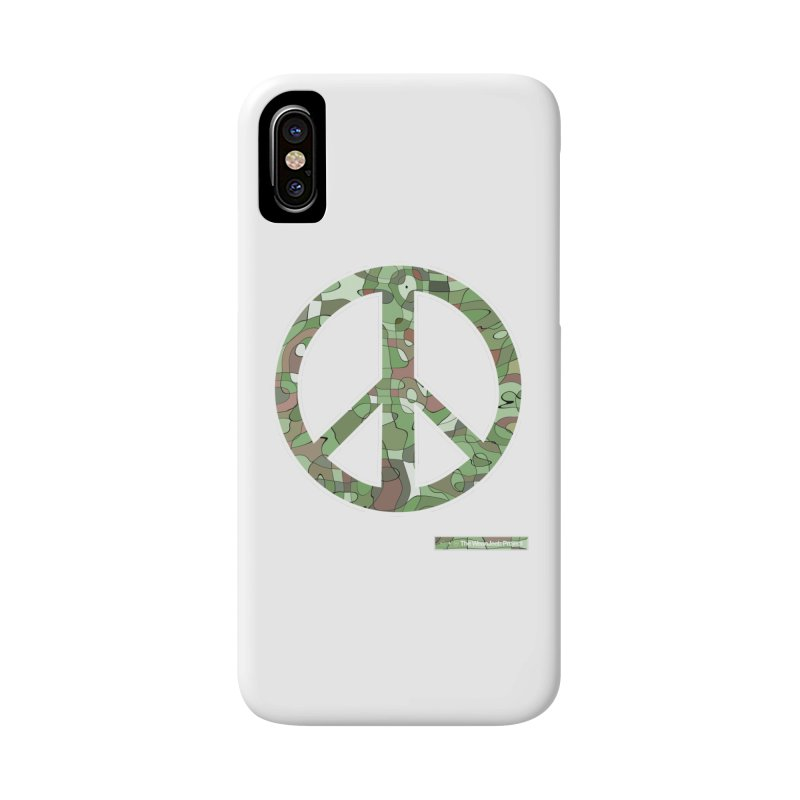 Peace Day Pop-Camo Accessories Phone Case by WeandJeeb's Artist Shop