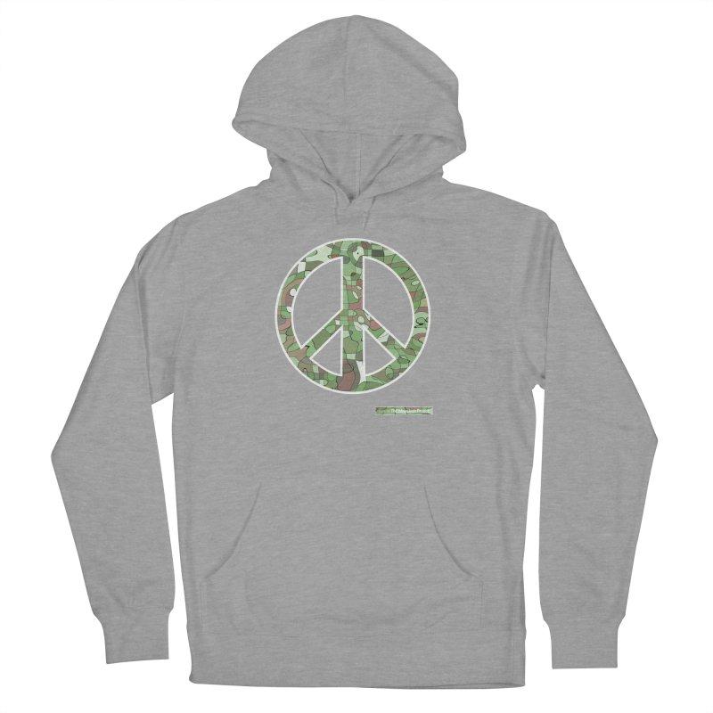 Peace Day Pop-Camo Men's Pullover Hoody by WeandJeeb's Artist Shop