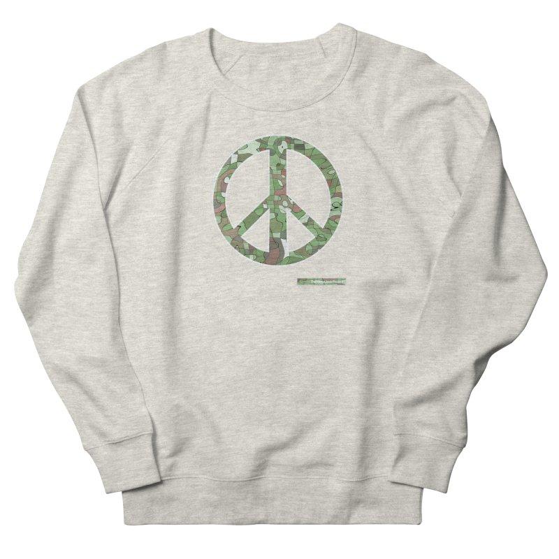 Peace Day Pop-Camo Men's Sweatshirt by WeandJeeb's Artist Shop