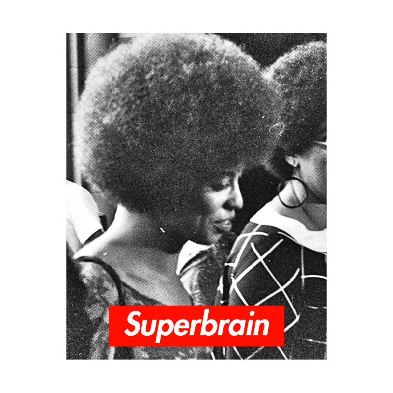 Superbrain - Angela Davis Women's Sweatshirt by WeandJeeb's Artist Shop