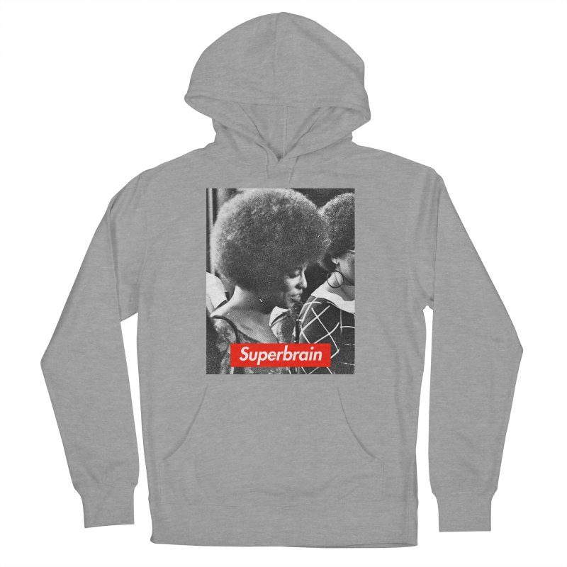 Superbrain - Angela Davis Men's Pullover Hoody by WeandJeeb's Artist Shop
