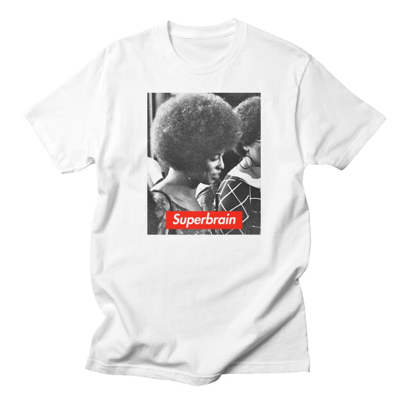 Superbrain - Angela Davis Women's Unisex T-Shirt by WeandJeeb's Artist Shop