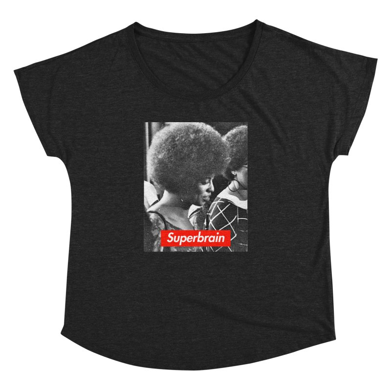 Superbrain - Angela Davis Women's Dolman by WeandJeeb's Artist Shop
