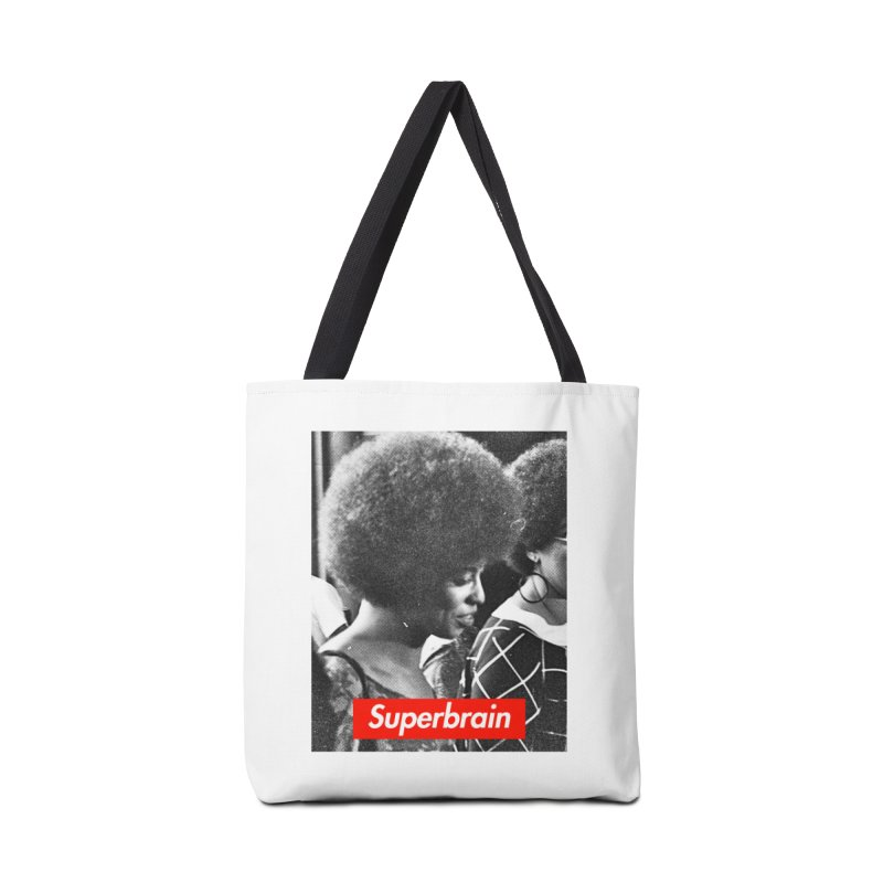 Superbrain - Angela Davis Accessories Bag by WeandJeeb's Artist Shop