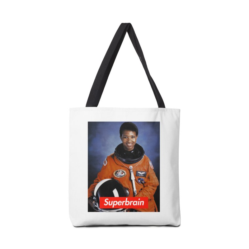 SuperBrain - Dr. Mae C. Jemison Accessories Bag by WeandJeeb's Artist Shop