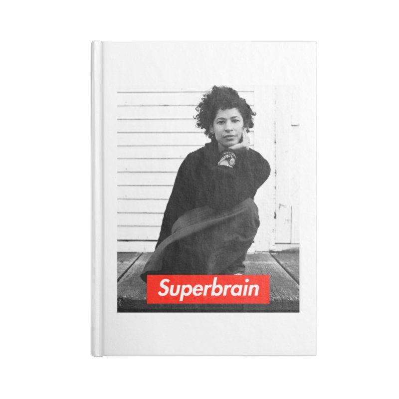 Superbrain Rebecca Walker Accessories Notebook by WeandJeeb's Artist Shop