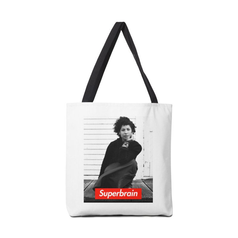 Superbrain Rebecca Walker Accessories Bag by WeandJeeb's Artist Shop