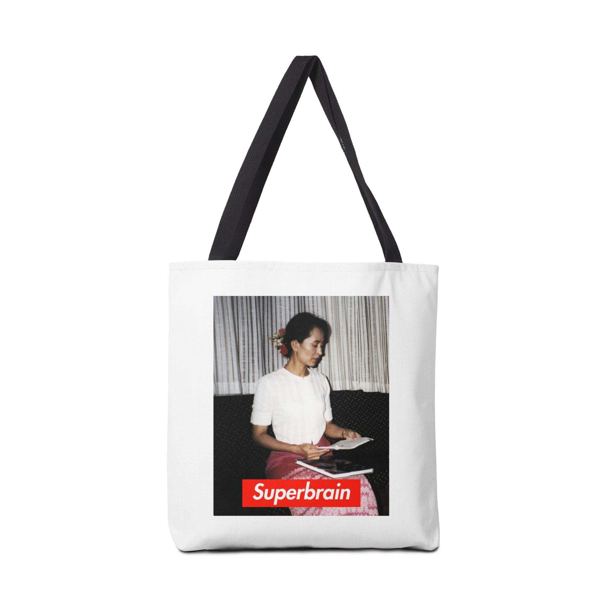 Superbrain - Aung San Suu Kyi Accessories by WeandJeeb's Artist Shop