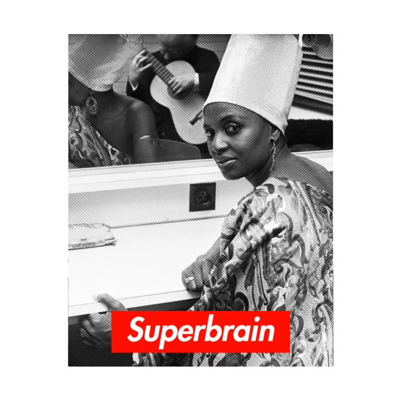 Superbrain - Miriam Makeba by WeandJeeb's Artist Shop