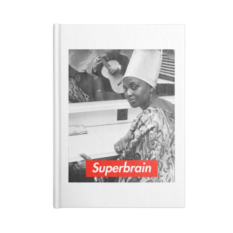 Superbrain - Miriam Makeba Accessories Notebook by WeandJeeb's Artist Shop