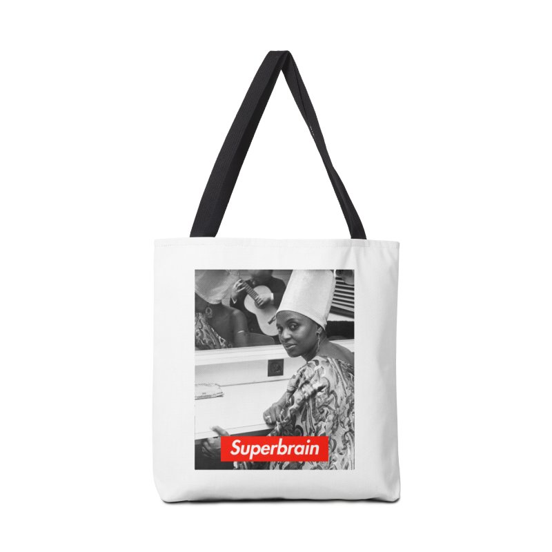 Superbrain - Miriam Makeba Accessories Bag by WeandJeeb's Artist Shop