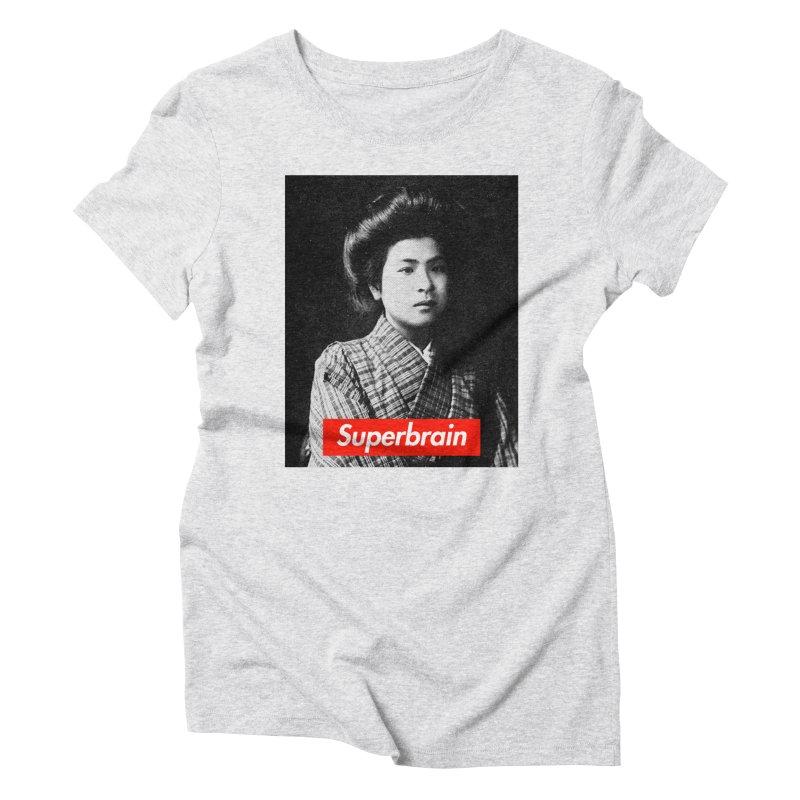 Superbrain - Noe Itō Women's Triblend T-shirt by WeandJeeb's Artist Shop
