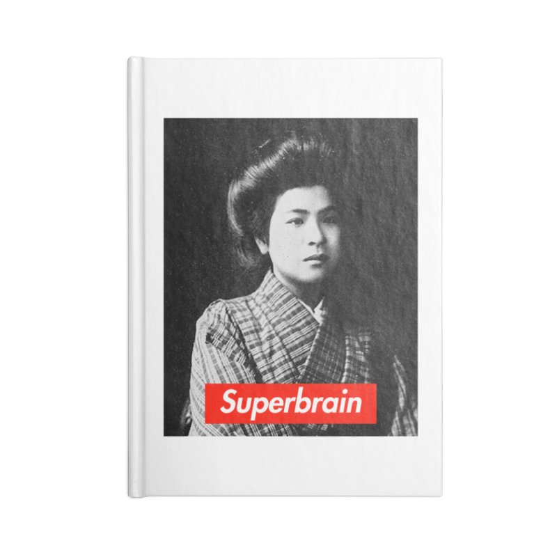 Superbrain - Noe Itō Accessories Notebook by WeandJeeb's Artist Shop