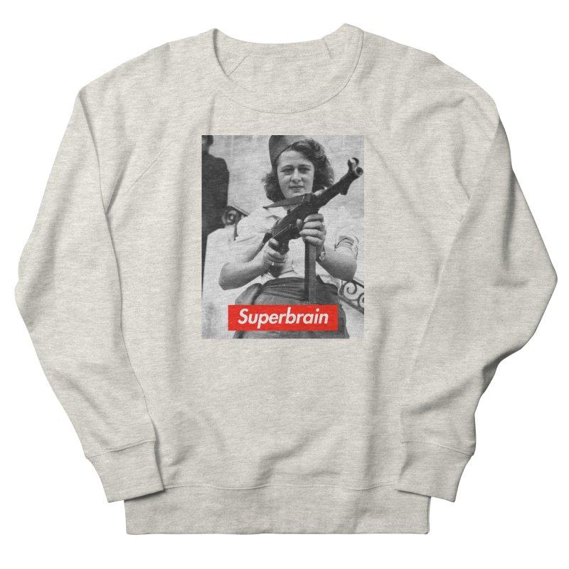 Superbrain - Simone Segouin a.k.a Nicole Minet Women's Sweatshirt by WeandJeeb's Artist Shop