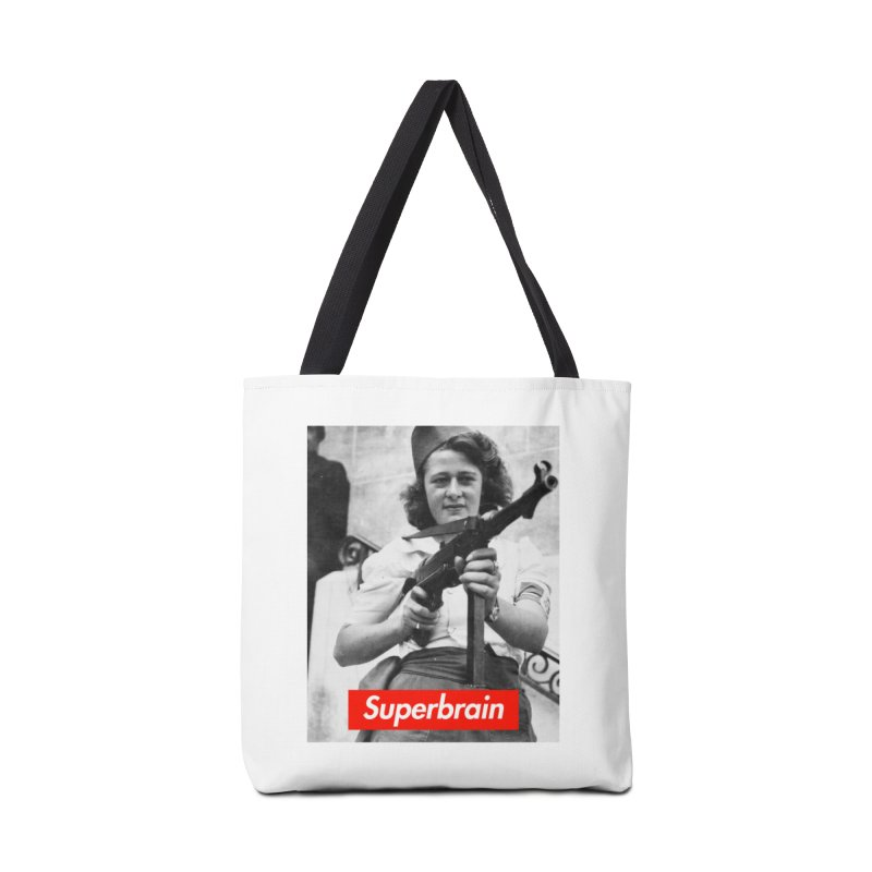 Superbrain - Simone Segouin a.k.a Nicole Minet Accessories Bag by WeandJeeb's Artist Shop