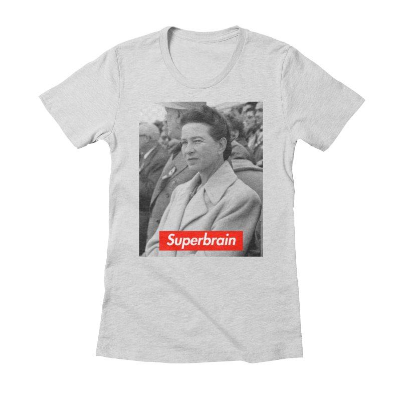 Superbrain - Simone de Beauvoir  Accessories by WeandJeeb's Artist Shop