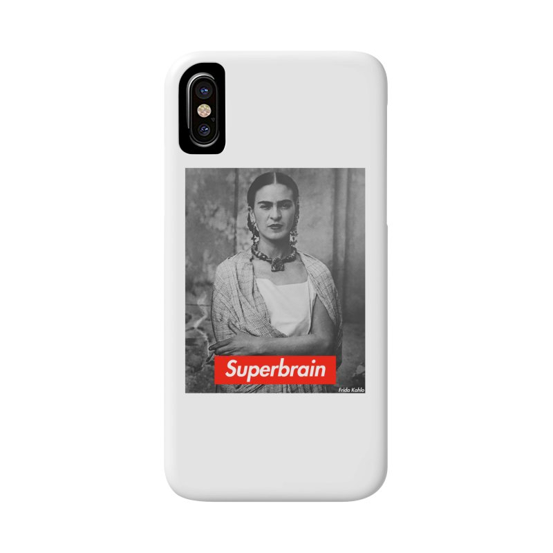 Superbrain - Frida Kahlo Accessories Phone Case by WeandJeeb's Artist Shop