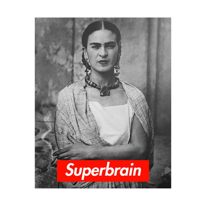 Superbrain - Frida Kahlo Men's Pullover Hoody by WeandJeeb's Artist Shop