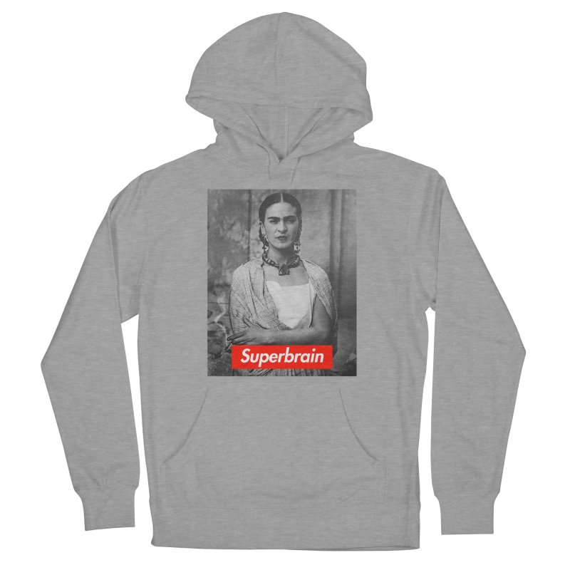 Superbrain - Frida Kahlo Women's Pullover Hoody by WeandJeeb's Artist Shop