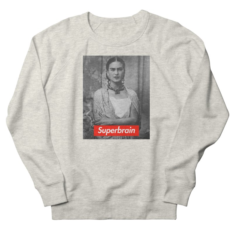 Superbrain - Frida Kahlo Women's Sweatshirt by WeandJeeb's Artist Shop