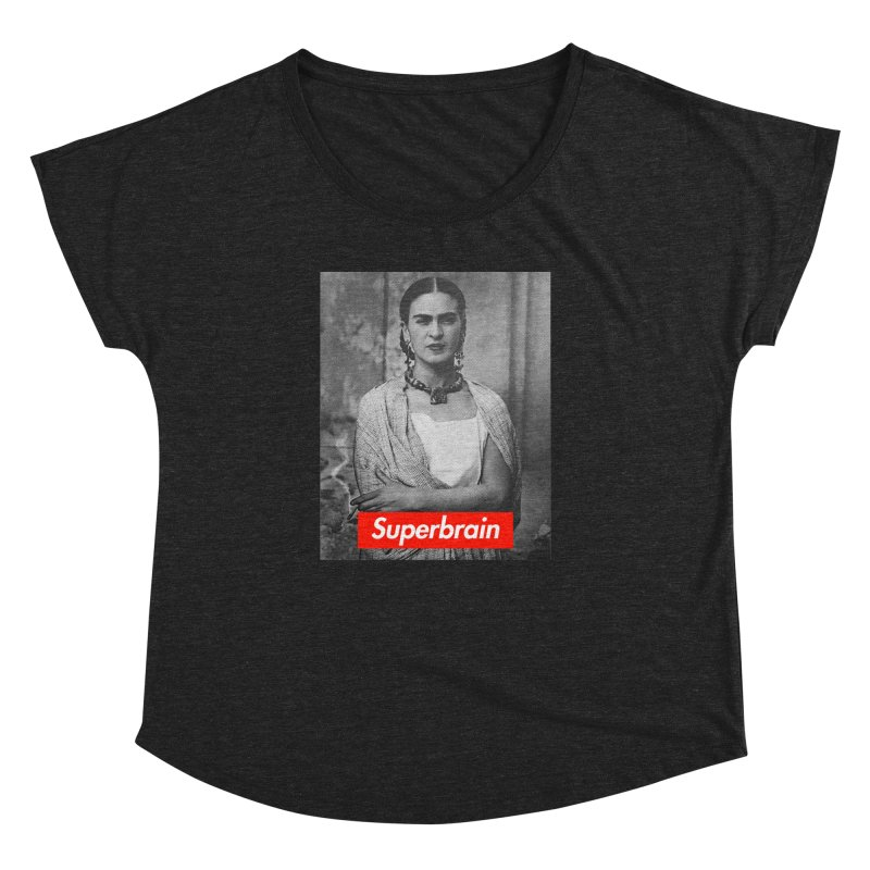 Superbrain - Frida Kahlo Women's Dolman by WeandJeeb's Artist Shop
