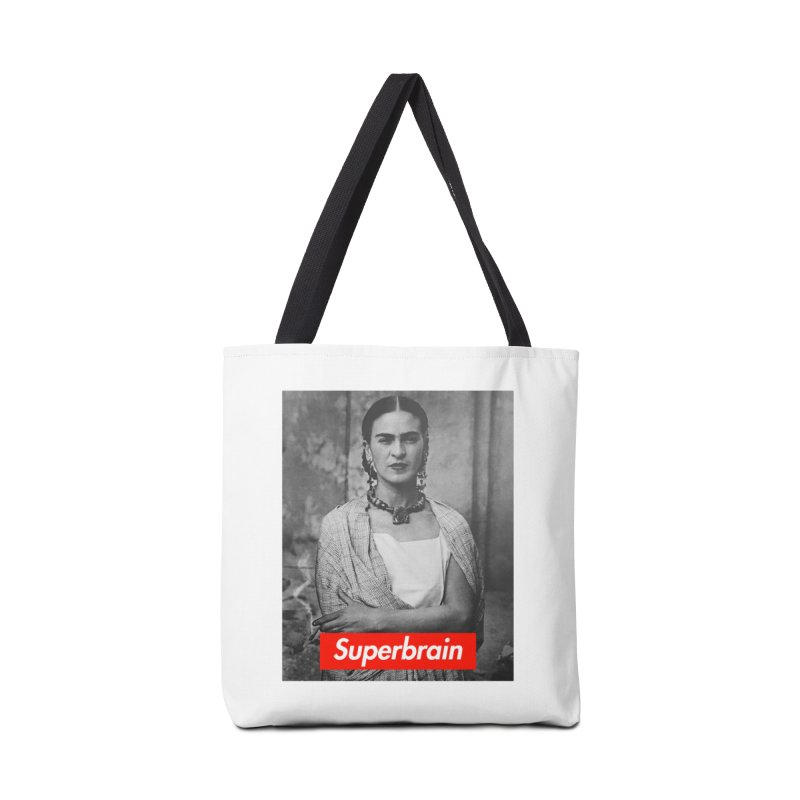 Superbrain - Frida Kahlo Accessories Bag by WeandJeeb's Artist Shop
