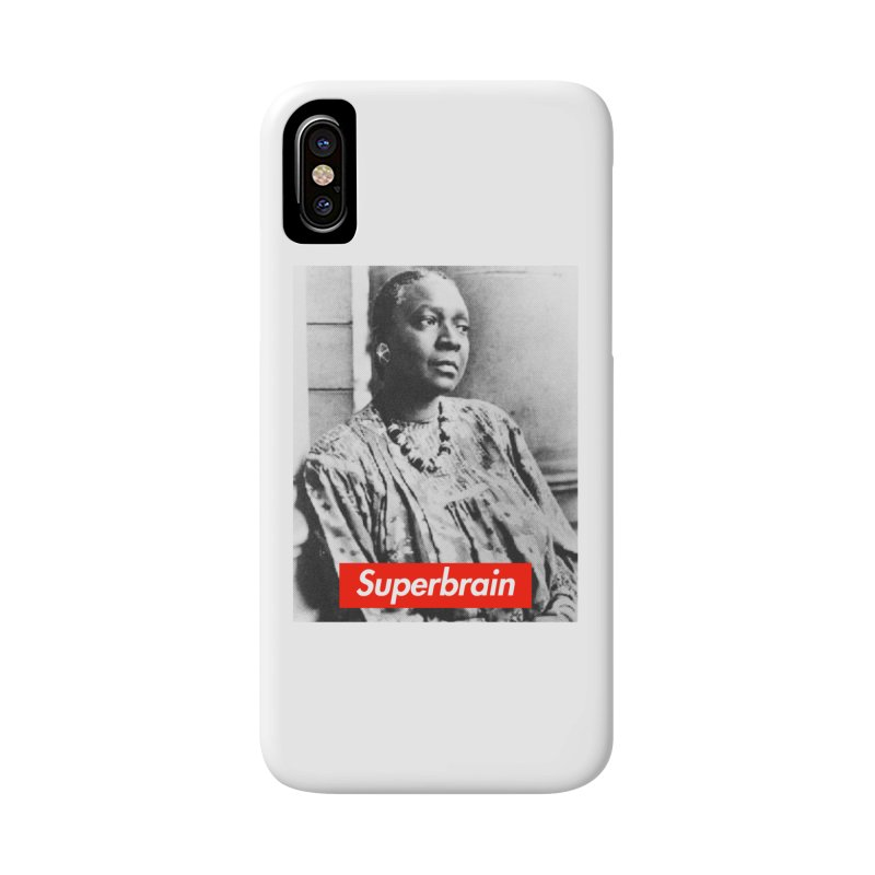 Superbrain Maryse Condé Accessories Phone Case by WeandJeeb's Artist Shop