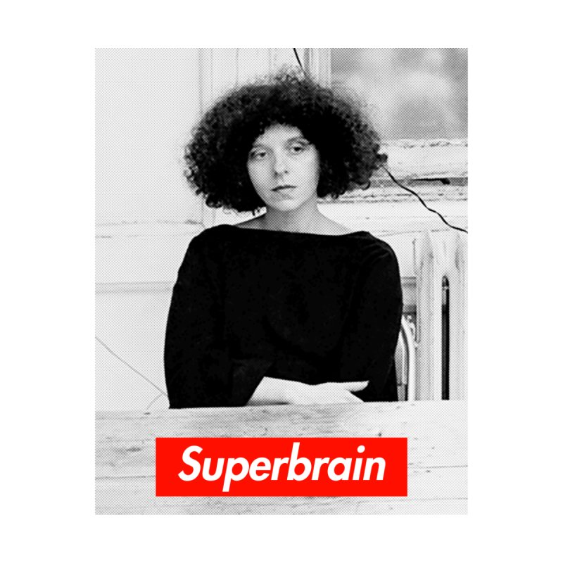 Superbrain - Barbara Kruger by WeandJeeb's Artist Shop
