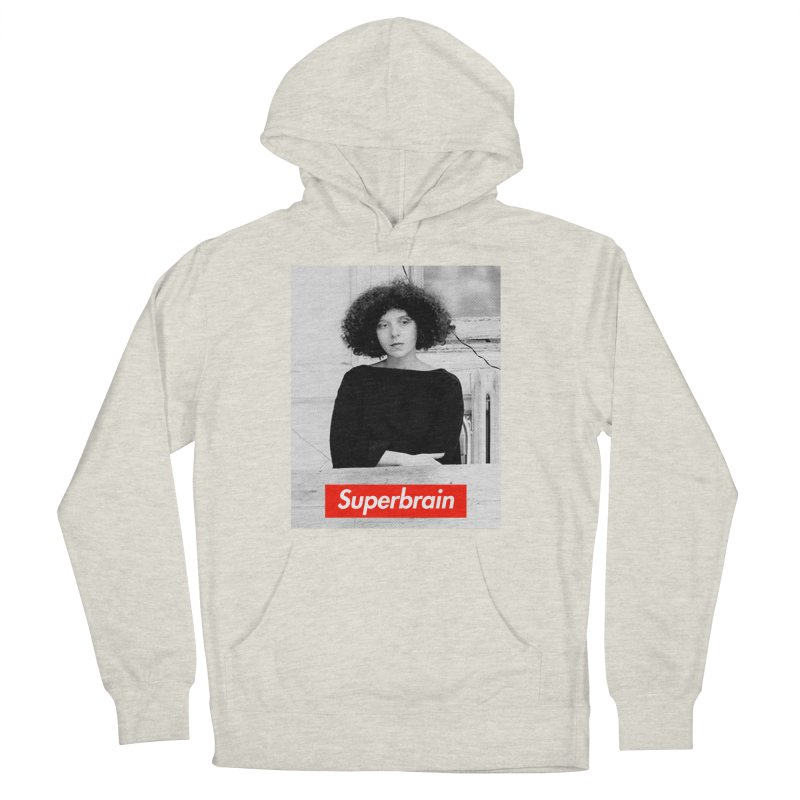 Superbrain - Barbara Kruger Men's Pullover Hoody by WeandJeeb's Artist Shop