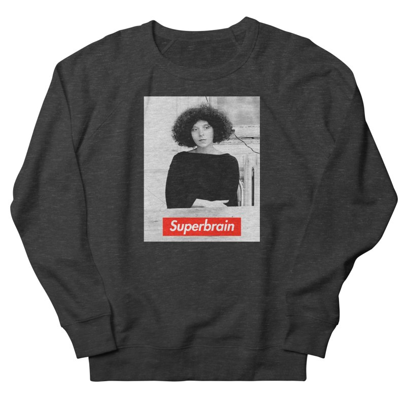 Superbrain - Barbara Kruger Women's Sweatshirt by WeandJeeb's Artist Shop