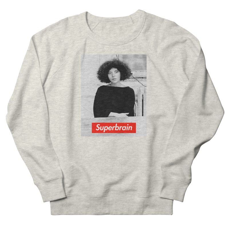 Superbrain - Barbara Kruger Women's Sweatshirt by WeandJeeb's Artist Shop